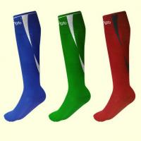 Wholesale Red Blue Green Soccer Socks Custom Sports Socks for Boys , Girls from china suppliers