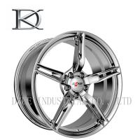 Quality Two Pieces Car Racing Wheels Concave Forged , Aluminum Car Racing Rims 5 Holes for sale