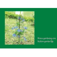 Wholesale Plant Support Hoops / Garden Spiral Plant Support Black Color For Flower Support from china suppliers