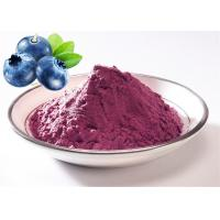 Wholesale 100% natural Blueberry powder Freeze Dried Blueberry Juice powder 80 mech from china suppliers