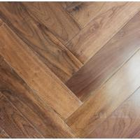 Wholesale Black Walnut Fishbone wooden floor, American walnut herring bone herringbone flooring from china suppliers