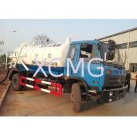 Wholesale Safety Reliable Special Purpose Vehicles , 6.5L Transport Sewage Vacuum Truck from china suppliers