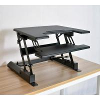 Wholesale Standing Modern Desk Sit Stand Up Dual Monitor Office Height Adjustable Desk,Standing Desk Converter from china suppliers