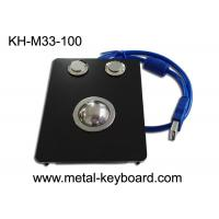 Wholesale 25mm Panel - mount Black Metal Trackball IP65 For Industrial Pointing Device from china suppliers