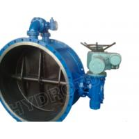 Wholesale Electric / Manual Drived Flanged Butterfly Valve with Pressure 0.25Mpa - 2.5 Mpa for hydropower from china suppliers