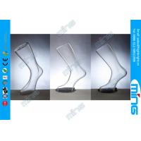 Wholesale Plastic Transparent Female Foot Display , Female Body Mannequin Foot from china suppliers