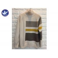Wholesale High Neck Fashion Pattern Womens Knit Pullover Sweater Thick Winter Jumper from china suppliers