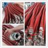 Buy cheap Fireproof Fiberglass Braided Sleeving Fire Sleeve Used in Steel Plants from wholesalers