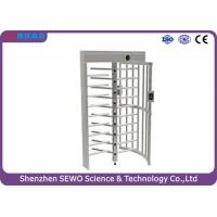 Buy cheap Full height motorized industrial turnstile , bi-directional turnstile from wholesalers