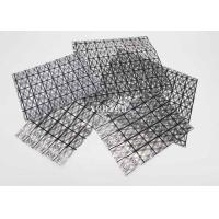 Anti Static Composite Conductive Grid Bag Mesh Shiny With Bubbles Inside
