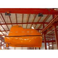 Wholesale CCS, BV, EC, ABS, RINA Approved 20 Persons Gravity Type GRP Fully Enclosed Lifeboat from china suppliers