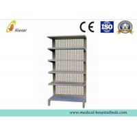 Wholesale Standalone Stainless Steel Metal Medical Cabinet Single Side Storeroom Medicine Shelf (ALS-CA018) from china suppliers