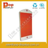 Wholesale POP Cardboard Hook Display Stands Light Weight For Food / Retail from china suppliers