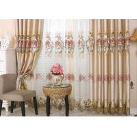 Wholesale Beautiful Polyester Embroidered Fabrics Contemporary Curtain Fabric from china suppliers
