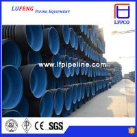 Wholesale PE flexible corrugated hose flexible hdpe pipe from china suppliers