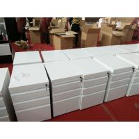 Quality 3 drawer mobile pedestal cabinet FYD-H016  H620XW390XD500mm,white color,export to Australia for sale
