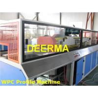 Wholesale Door WPC Production Line Wood Plastic Composite Window Frame Making Machine from china suppliers
