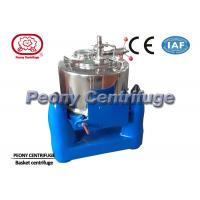 Wholesale Manual Top Discharge Solid Bowl Basket Centrifuge for Algae Concentration from china suppliers