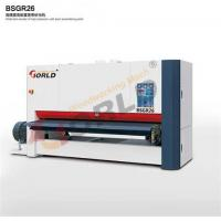 Wholesale BSGR26 2600 mm Working Width 8 ft Width Plywood MDF Board One Side One Head Wide Belt Calibration Sander from china suppliers