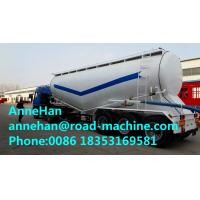 Wholesale 60M3 Polyurethane Painting Bulk Cement Transport Truck With #50 #90 Fifth Wheel from china suppliers