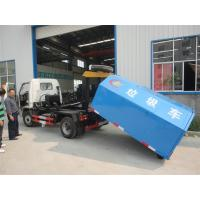 Wholesale Chang'an 4*2 LHD mini hook lifter garbage truck for sale,best price and high quality Chang'an skid loader for sale from china suppliers