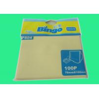 Wholesale 100 Sheets Pastel Yellow 3 X4 Inch Pastel Memo Pads For Writing A Memo from china suppliers