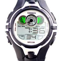 Wholesale Black Digital Chronograph Waterproof Watches Ohsen For Diving from china suppliers