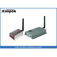 Wholesale 8 Channel Long Distance Video Wireless Transmitter , Long Range Video Transmitter 4000m from china suppliers
