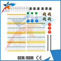 Wholesale Resistors LEDs Potentiometers Button Cap Starter Kit For Arduino , Electronics component from china suppliers