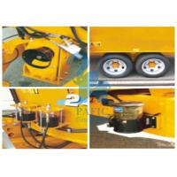 Wholesale Tulip Yellow Cattle Feed Mixing Machine , Small Feed Grinder Mixer For Dairy Farm from china suppliers