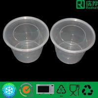 Microwave Clear Plastic Takeaway Food Containers for Hot Food 500ml