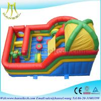 Wholesale Hansel inflatable bouncer slide inflatable bouncers for adults from china suppliers