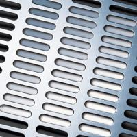 Wholesale slot/oblong hole perforated metal from china suppliers