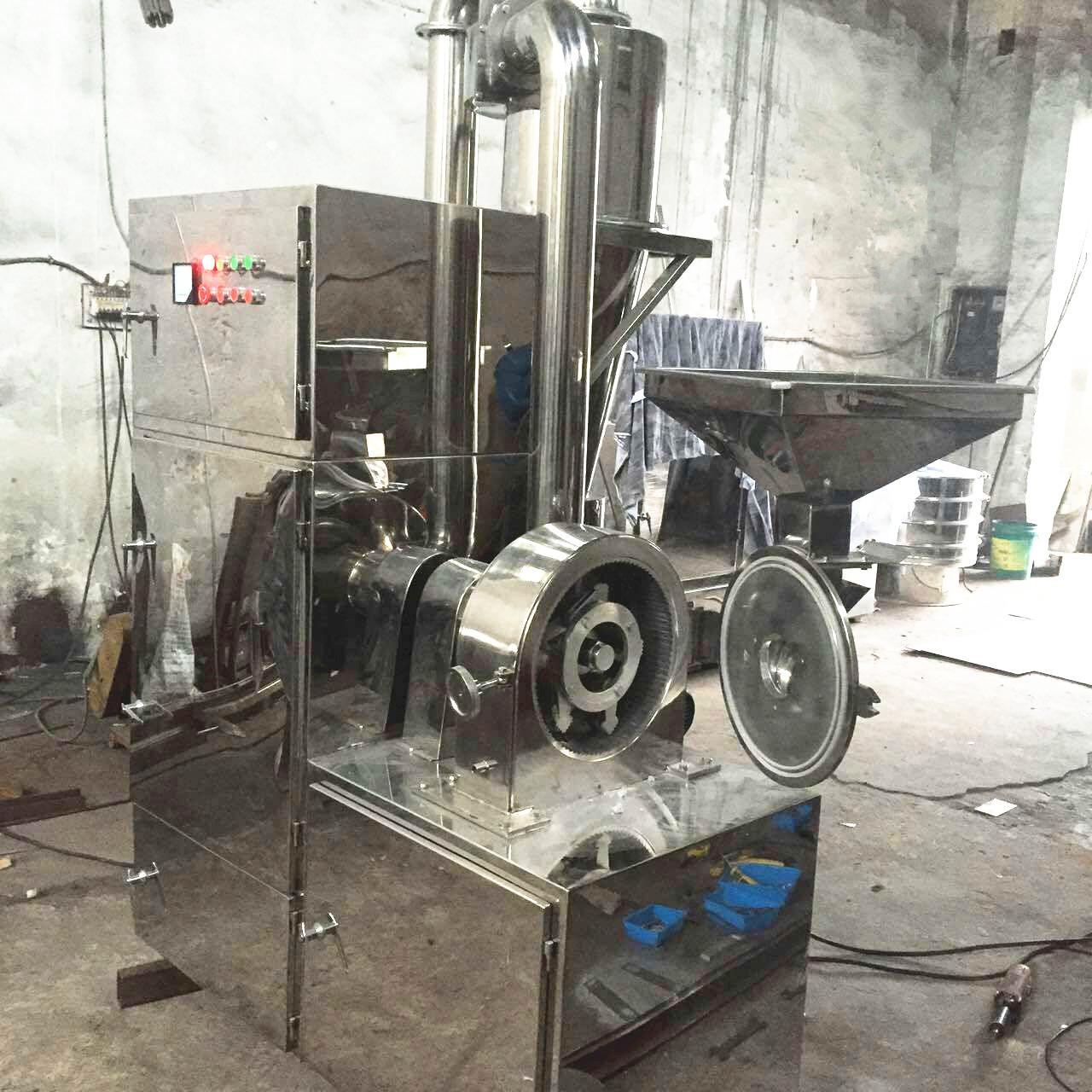 Wholesale Automatic Powder Crusher Machine High Capacity For Herbal Powder Making from china suppliers