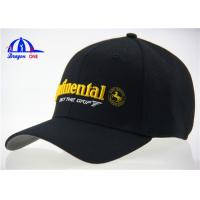 Wholesale Cotton and Polyester Mesh Woven Fitted Baseball Caps from china suppliers