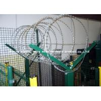 Quality Hot Dipped Construction Razor Wire Fencing For Railway / Highway Anti Theft for sale