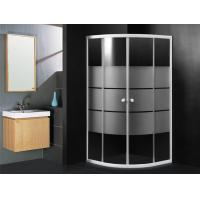 Wholesale Quadrant Shower Cabin 900 X 900 Hotel Shower Enclosure Sliding With White Stripes from china suppliers