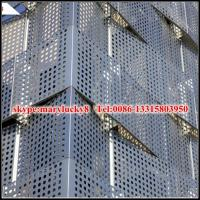 Wholesale aluminum perforated facade panel/perforated aluminum panel for facade from china suppliers