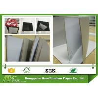 Wholesale Rigid Grey Back 3mm Duplex Paper Board Book Cover Gray Paperboard Recyclable from china suppliers
