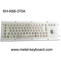Wholesale 70 Keys Industrial Metal Computer Keyboard with Trackball / Stainless Steel Kiosk Keyboard from china suppliers