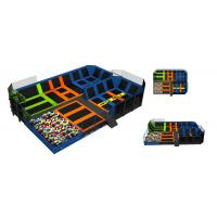 "Wholesale 262M2 Kids Relax Jumping Indoor Trampoline Park <strong style=""color:#b82220"">Spring</strong> Round Trampoline from china suppliers"