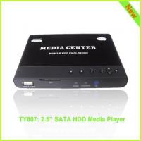 TY807: 1080p HDD Media Mobile Player F10