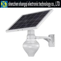 Wholesale Moon Solar LED Street Lights With 5v - 15w Solar Panel Integrated Design Long Lifetime from china suppliers
