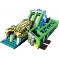 Wholesale Giant Inflatable Obstacle Course , Playground Outdoor Obstacle Course For Students from china suppliers