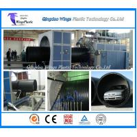 Wholesale Plastic Winding Pipe Production Line , HDPE Winding Pipe Making Machine from china suppliers
