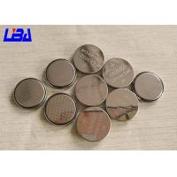 Wholesale High Capacity Coin Type Batteries Button Cell 240mAh 3v CR1220 CR2032 CR2450 from china suppliers
