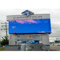 Wholesale Waterproof P10 Full Color LED Advertising Display , Video Wall Screen from china suppliers