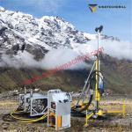 200m man portable lightweight core drill rig wireline drilling machine for sale