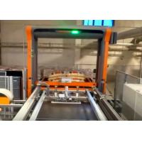 Wholesale Automatic Palletiser Machine For Stacking Barrels / Drums / Pails 2-4 Layers Per Minute from china suppliers