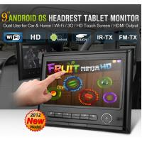 """Wholesale Car Headrest DVD Players Android  9 """" Digital Touch Screen With Multi-languages S-PD9816 from china suppliers"""